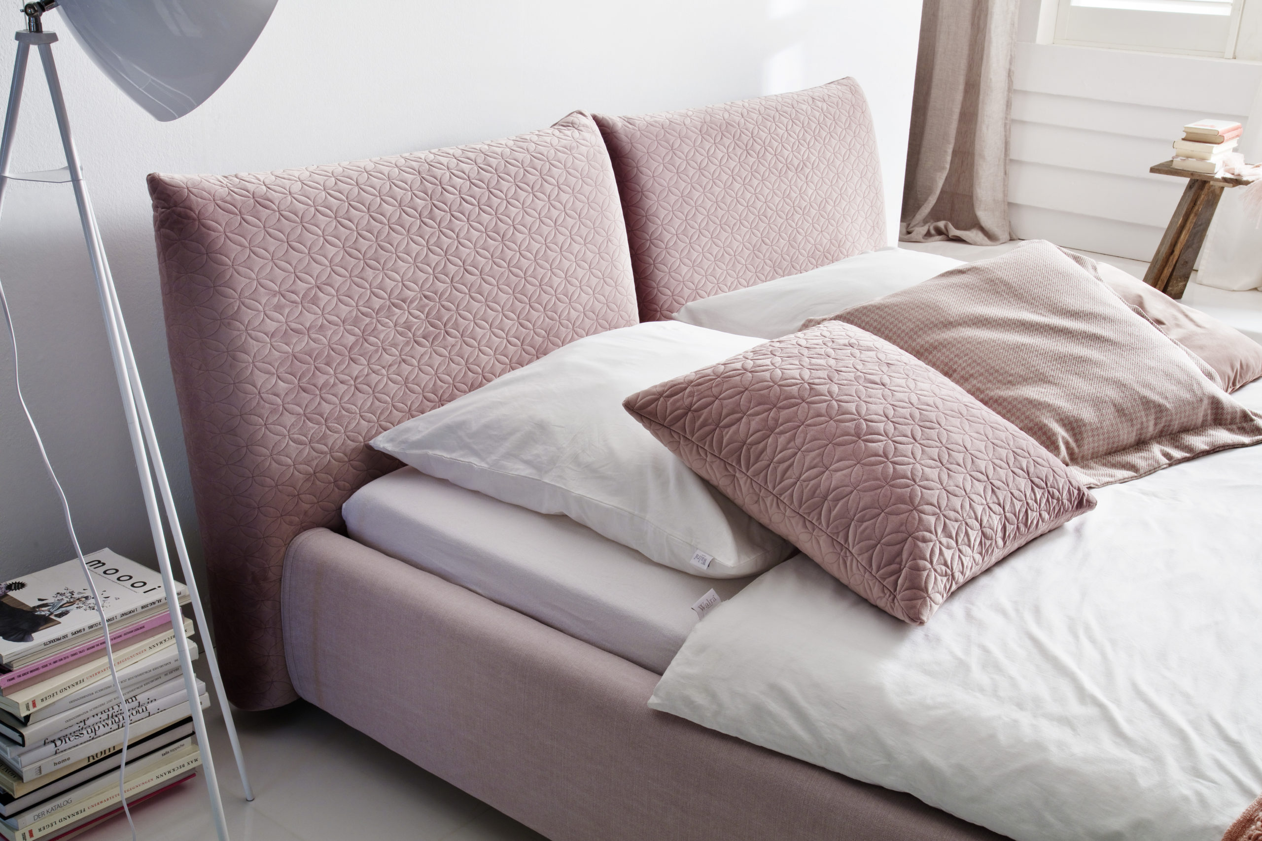 Homelike 180x200 Daisy rosewood Kopfteil 2 scaled - Dormitor Homelike 3C Candy Polstermoebel