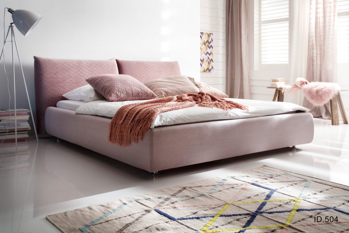 Homelike 180x200 Daisy rosewood Vintage rosa 1200x800 - Dormitor Homelike 3C Candy Polstermoebel