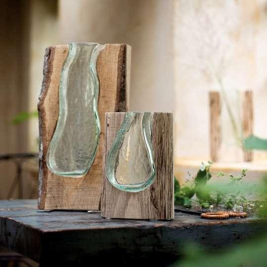 Leonardo CASOLARE Holzvase 038508 09 10 V08 H Beleg TrendXpress - Vază din lemn Casolare 36 см (L038510)