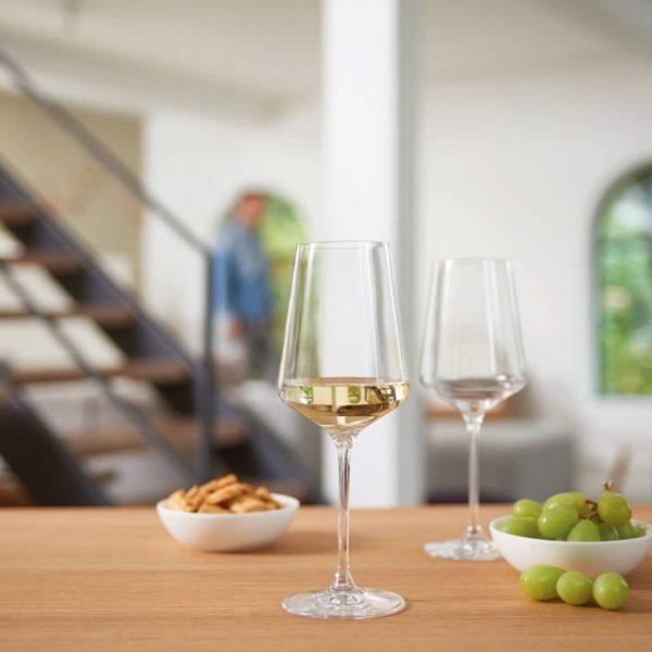 Leonardo PUCCINI Rieslingglas 069540 mood Q Beleg TrendXpress 1 600x600 - Pahar pentru vin alb Puccini 400 ml (L069540)
