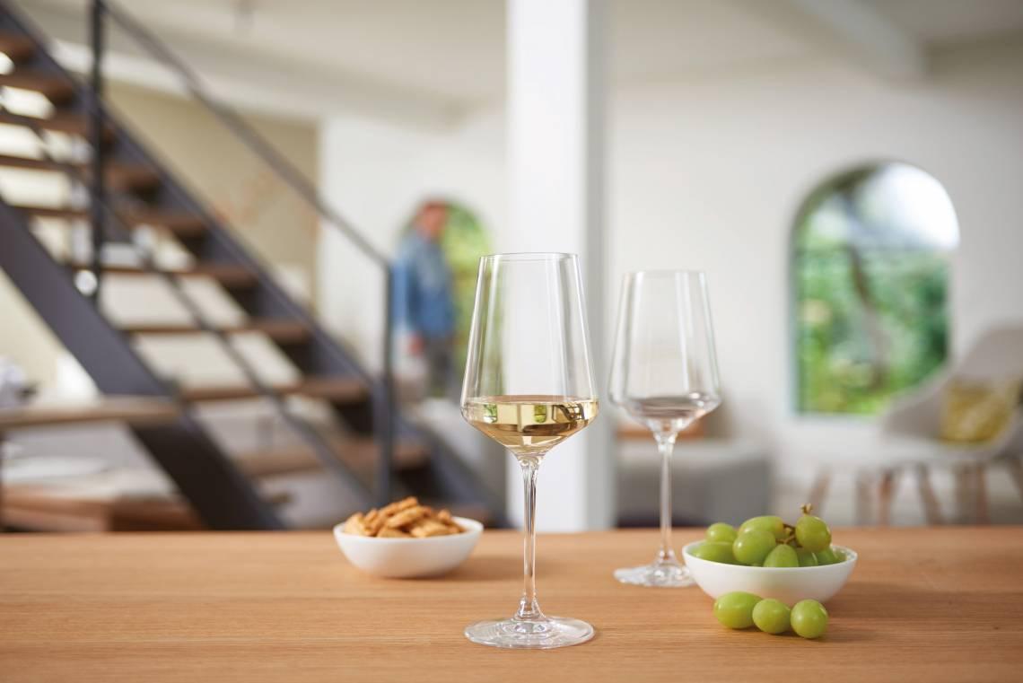 Leonardo PUCCINI Rieslingglas 069540 mood Q Beleg TrendXpress 1 - Pahar pentru vin alb Puccini 400 ml (L069540)