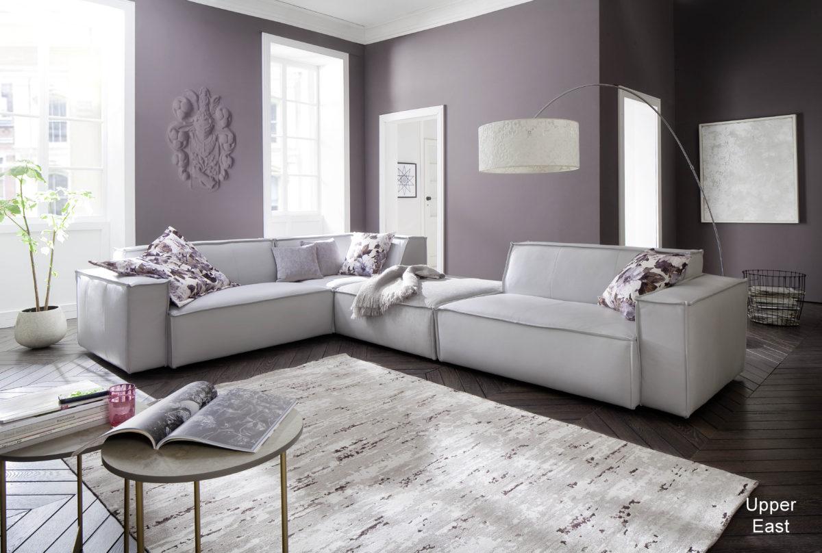 Upper East 15AL SEklein ZHmed 15AR Torero stone Cosmopolitan light grey 1200x808 - Canapea Upper East 3C Candy Polstermoebel