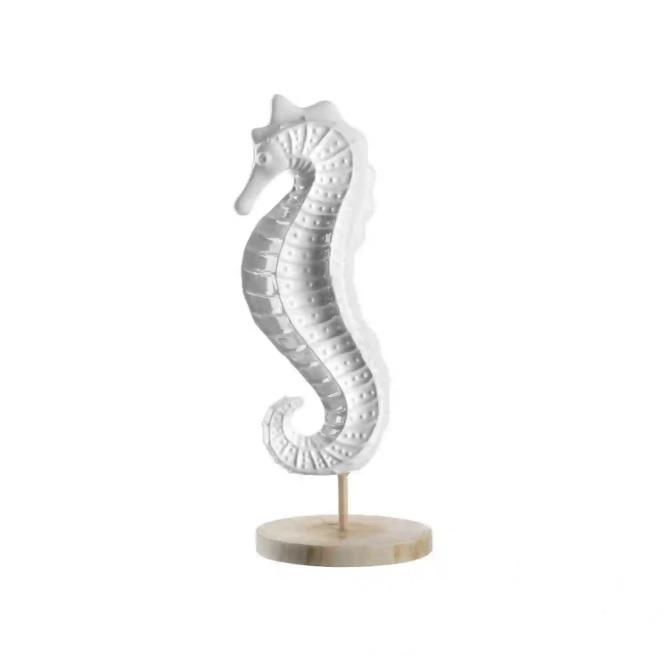 bnhvmj - Statuieta decorativă Al Mare white (L031504)