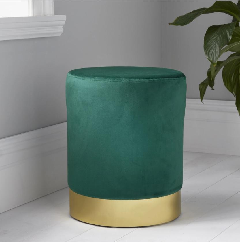 dswrwer - Pouf DENZEL green (1020426)