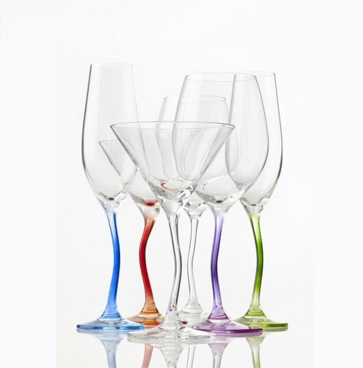 hfjkuk - Pahar pentru șampanie Modella lilac (L078794)