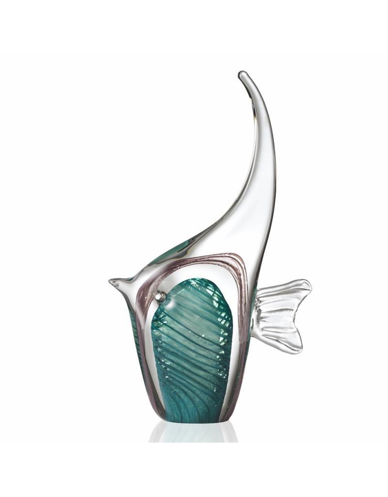 leonardo gb fish 30 turquoise oceano 034871 - Statuetă decorativă Fish Oceano turquoise (L034871)