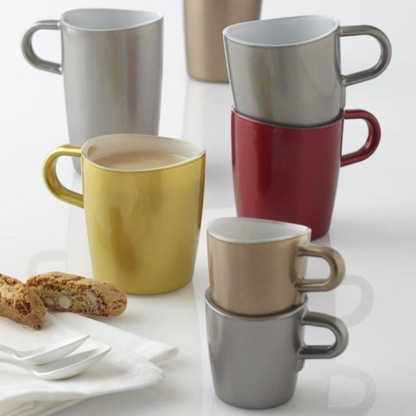 leonardo kaffeetasse espressotasse latte macchiato tasse loop metallic glas kueche 600x600 - Cana Ambra Loop (L012909)