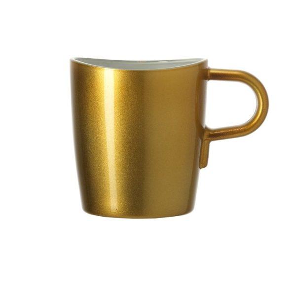leonardo kaffeetasse loop ambra metallic 600x600 - Cana Ambra Loop (L012909)