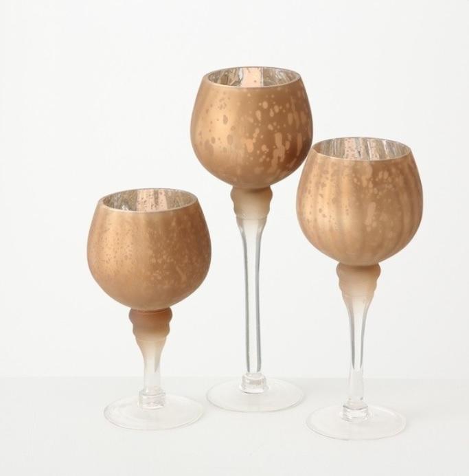 mhjlhj - Suport pentru lumânări MANOU copper (1015754)