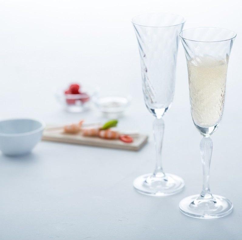 s l1600 12 - Pahar pentru șampanie Volterra 185 ml (L020763)