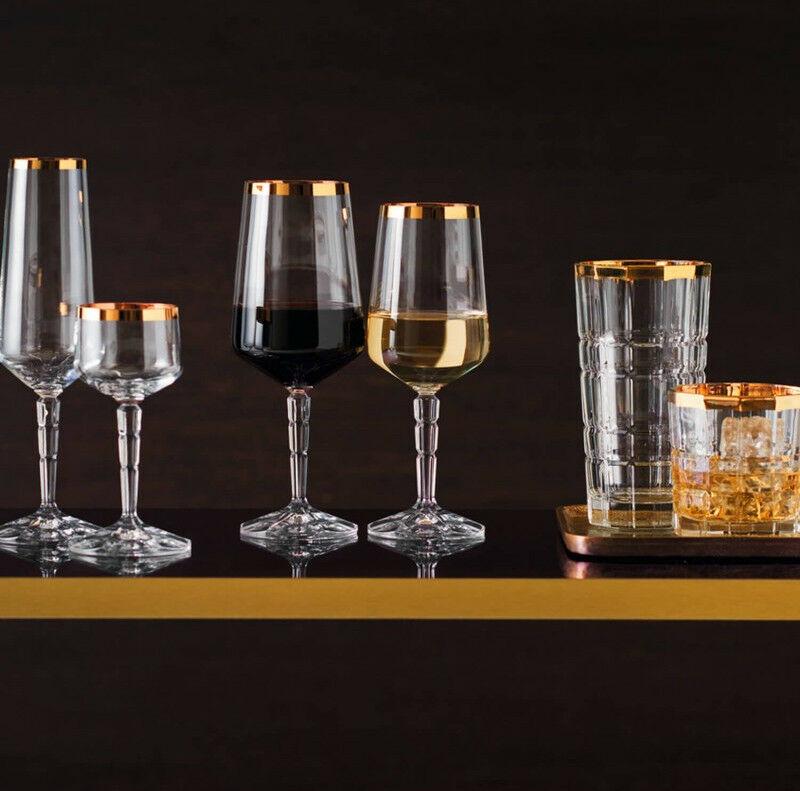 s l1600 13 - Pahar pentru vin alb Spiritii gold (L022700)