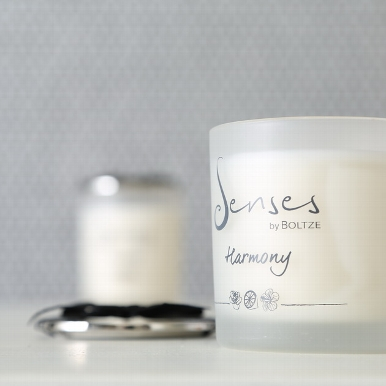 "senses harmony b - Lumânare aromatică BOLTZE Senses ""Harmony"" (1009117)"