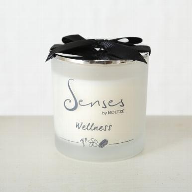 """senses wellness a - Lumânare aromatică BOLTZE Senses """"Lemongrass"""" (1009121)"""