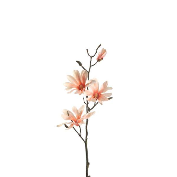 031599 0 k 600x600 - Floare decorativă Magnolia apricot fine 80 cm (L031599)