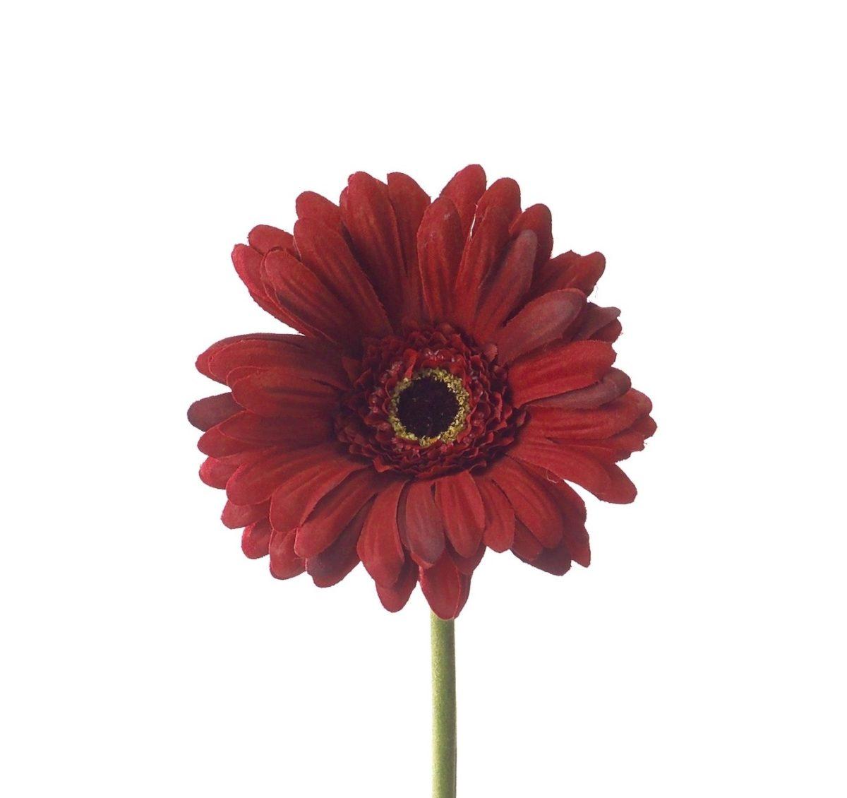056966 1200x1130 - Floare decorativă Gerbera red 50 cm (L056966)