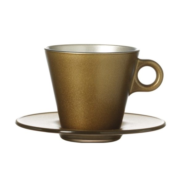 063876 0 k 600x600 - Set pentru cafea Ooh Magico gold (L063876)