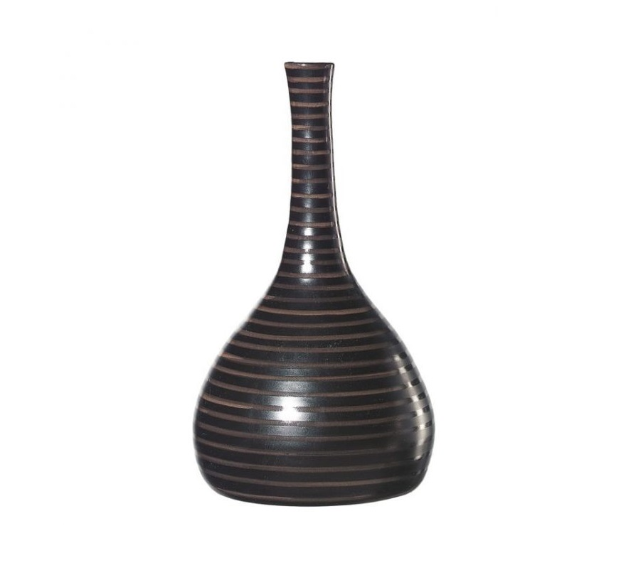1011156 700x700 1 - Vaza decorativă Cuba Marone 34 cm (1011156)