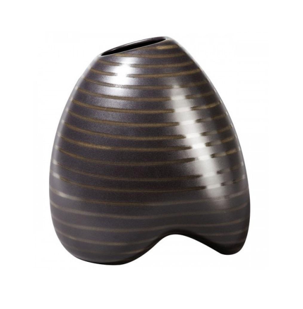 1117156 1 1 - Vaza decorativă Cuba Marone 28 cm (1112156)