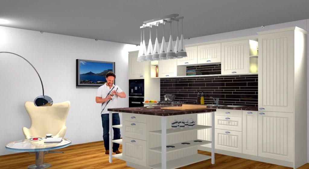 12 1 PSV004 1024x561 - Белая кухня – 7 идей дизайна и практические советы.