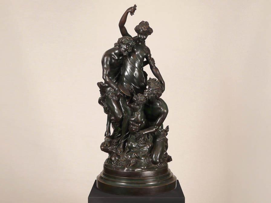 14422 - Statuetă din bronz SCHULLER (14422)