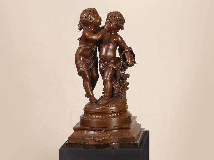 14442 - Statuetă din bronz SCHULLER (14442)