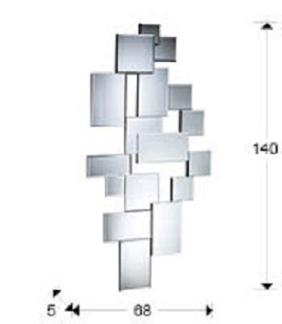 386113 1 - Oglindă City SCHULLER (386113)