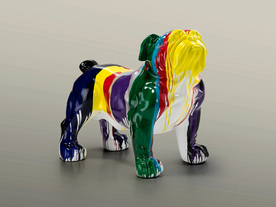 4318512 - Figurină decorativă Bulldog SCHULLER (431851)