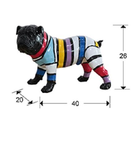 468174 1 - Figurină decorativă Bulldog SCHULLER (468174)