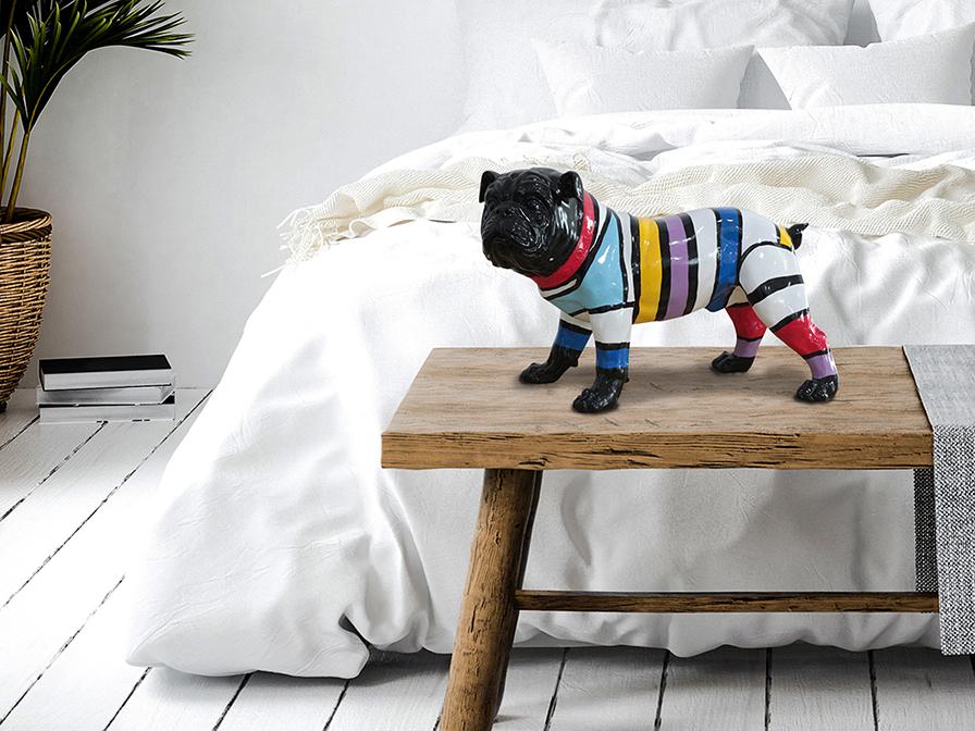 468174 - Figurină decorativă Bulldog SCHULLER (468174)