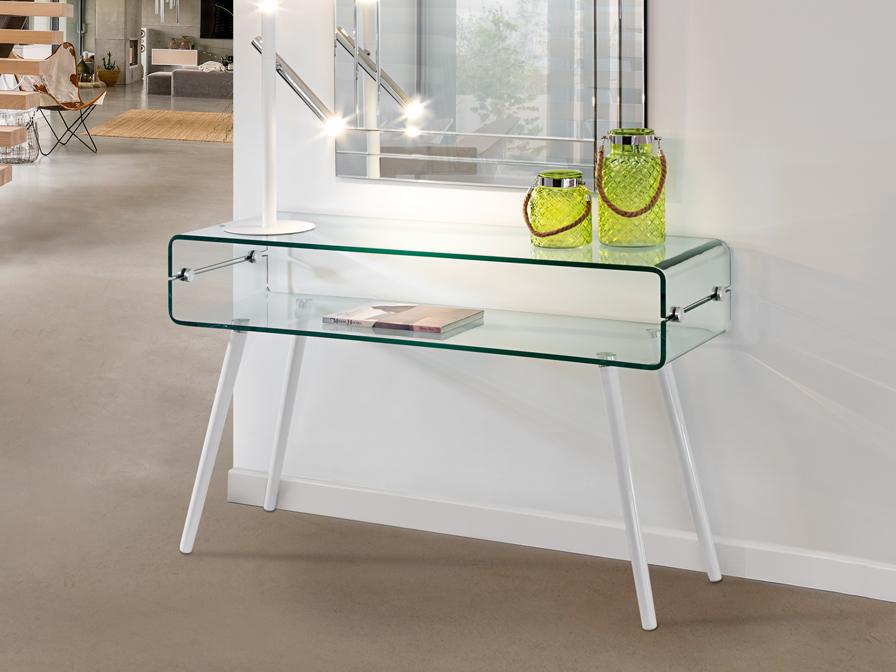 552097 1 - Consolă Glass II SCHULLER (552097)