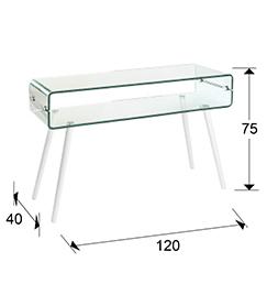 552097 - Consolă Glass II SCHULLER (552097)