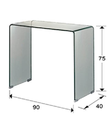 552431 - Consolă Glass SCHULLER (552431)