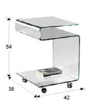 552522 1 - Masă de cafea Glass SCHULLER (552522)