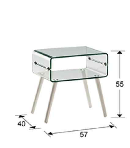 552933 1 - Masă de cafea Glass II SCHULLER (552933)
