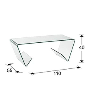 553095 1 - Masă de cafea Glass III SCHULLER (553095)