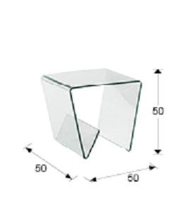 553106 1 - Masă de cafea Glass III SCHULLER (553106)