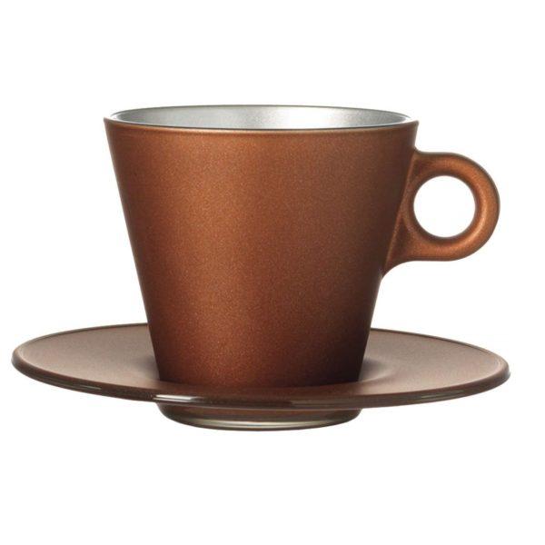 61WXlErXmFL. AC SL1500  600x600 - Set pentru cafea Ooh Magico brown (L063877)