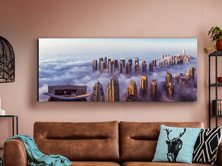 729040 - Print pe sticlă Rascacielos SCHULLER (729040)