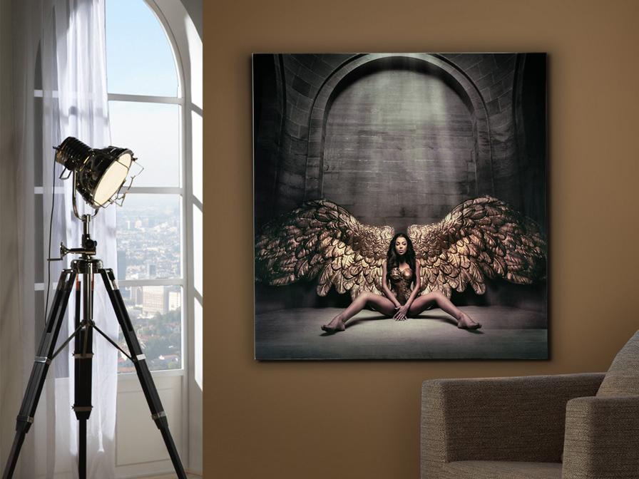 769932 - Print pe sticlă Angel caido SCHULLER (769932)