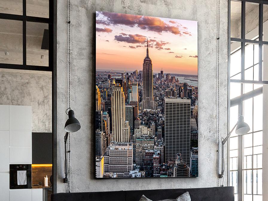 775922 - Print pe sticlă The Empire State SCHULLER (775922)