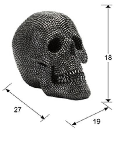 824729 1 - Figurină decorativă Calavera SCHULLER (824729)
