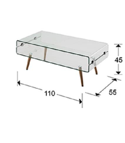 842016 1 - Masă de cafea Glass II SCHULLER (842016)