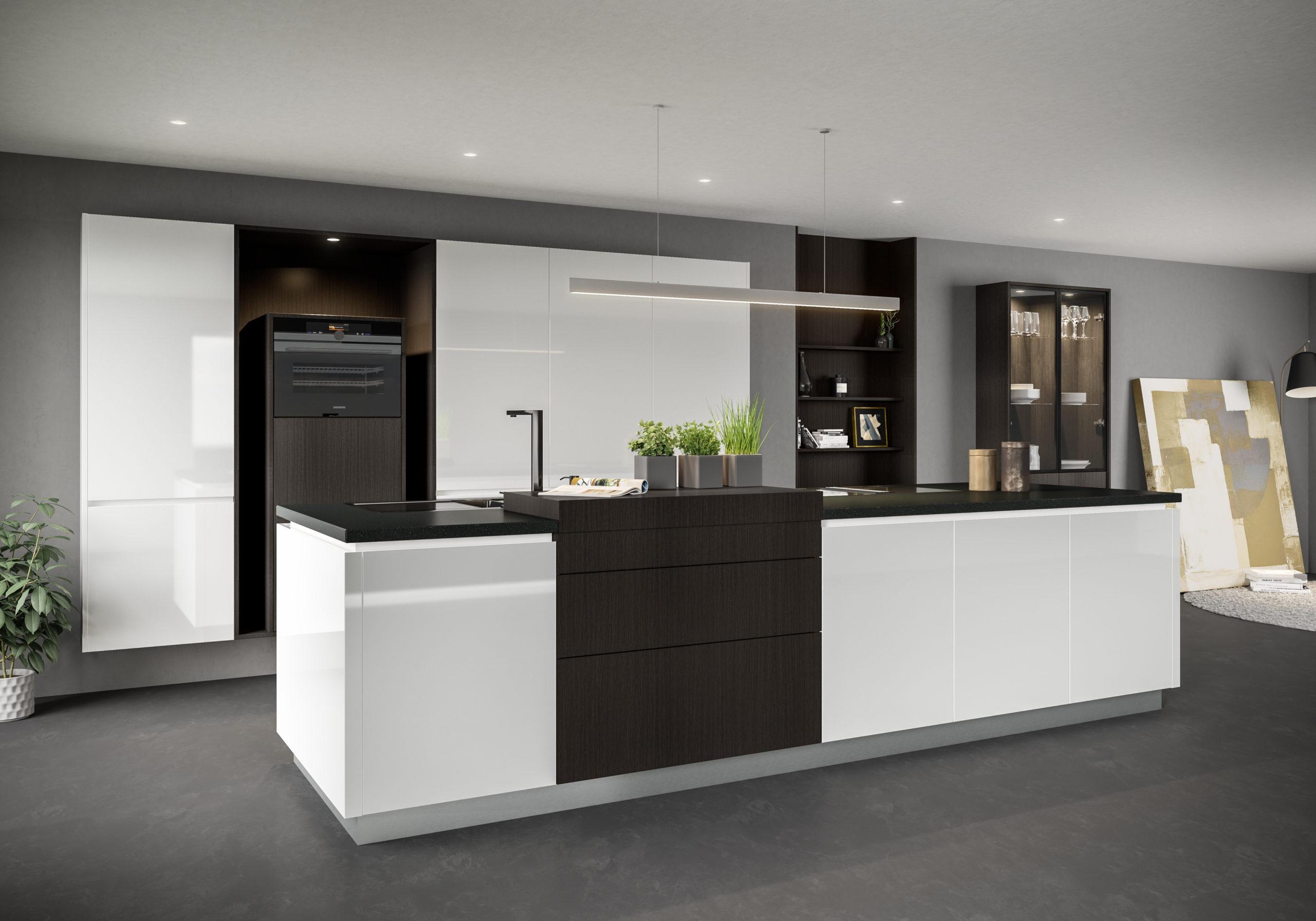 ALINA FRANKA 01 scaled - Белая кухня – 7 идей дизайна и практические советы.