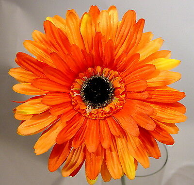 Gerbera orange 75cm hoch Blüte o175cm VE a - Floare decorativă Gerbera orange 50 cm (L056962)