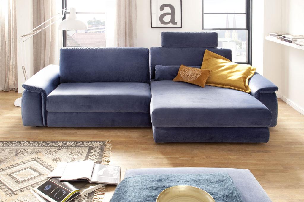 Molino 1 5AL LAR Velvet blue grey ohne Namen 3 1024x683 - Велюровые диваны и спальни, их плюсы и минусы.