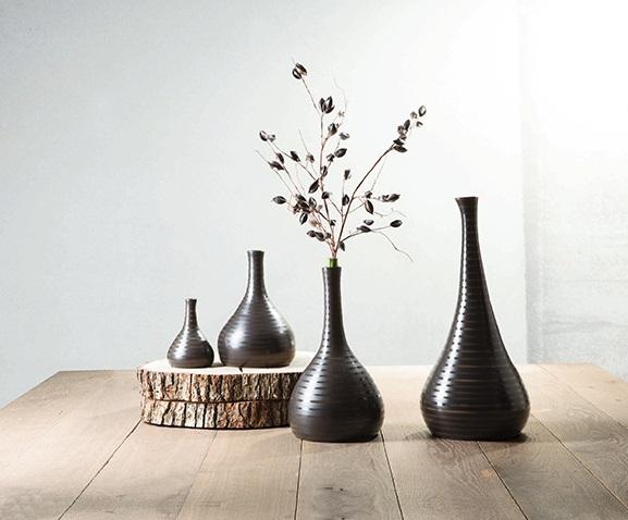 asaflowerpot 4 - Vaza decorativă Cuba Marone 28 cm (1112156)