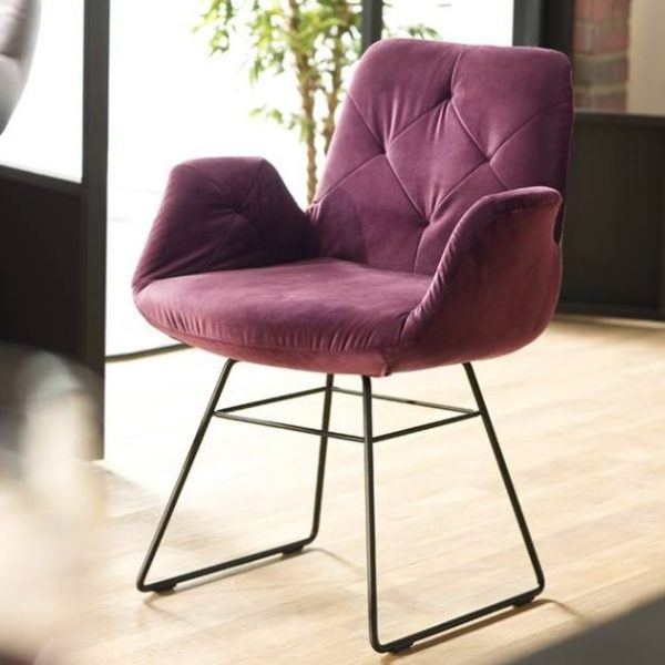 candy 3c stuhl sixty esszimmer speisezimmer holz metall bequem 1 600x600 - Scaun Sixty Chair 3C Candy Polstermoebel
