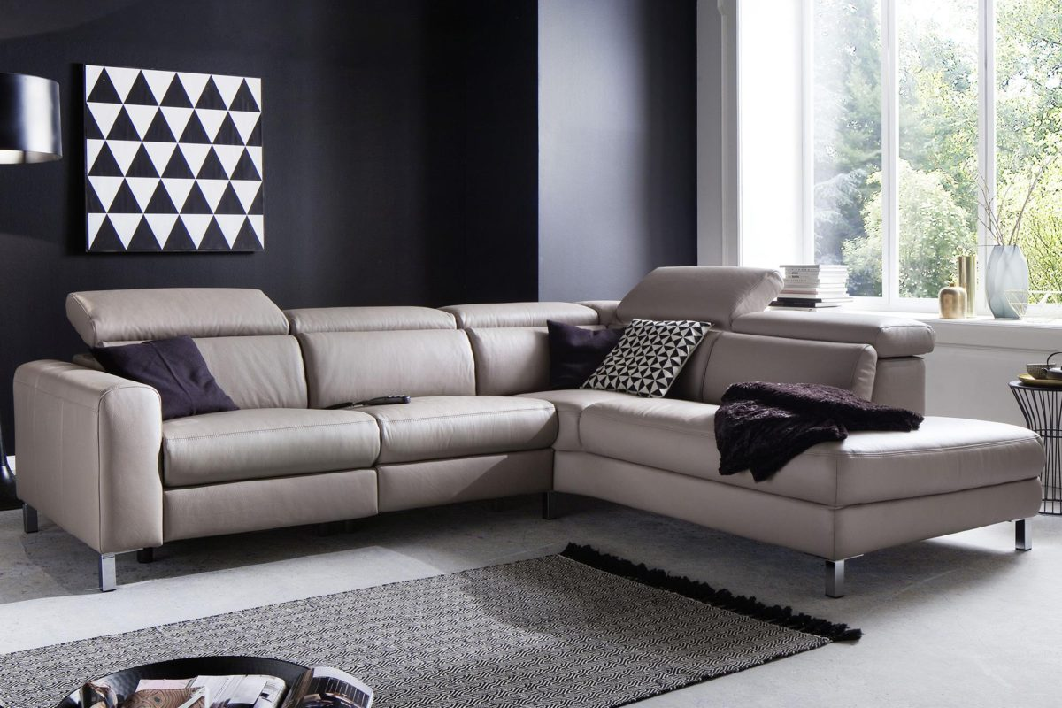 candy ledersofa lazy mit motorischer verstellung 18264 1 1200x800 - Canapea Lazy 3C Candy Polstermoebel