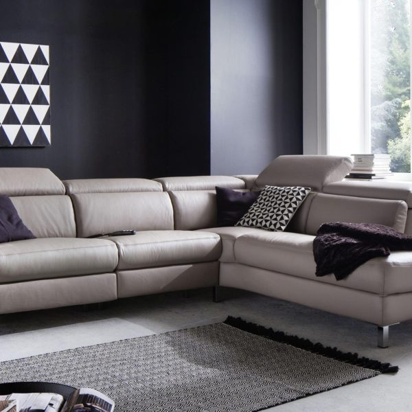 candy ledersofa lazy mit motorischer verstellung 18264 1 600x600 - Canapea Lazy 3C Candy Polstermoebel