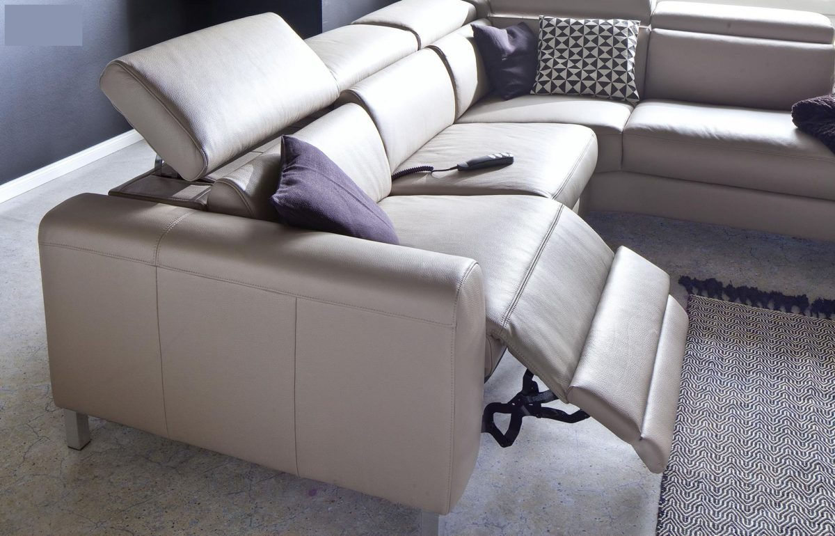 candy ledersofa lazy mit motorischer verstellung 18264 2 1200x770 - Canapea Lazy 3C Candy Polstermoebel